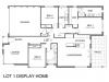 1.2 bch - display home - Shelly Beach - plan