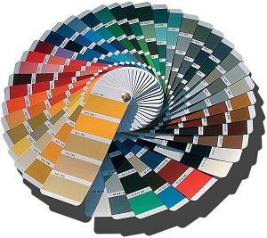 Designing Divas colour design chart